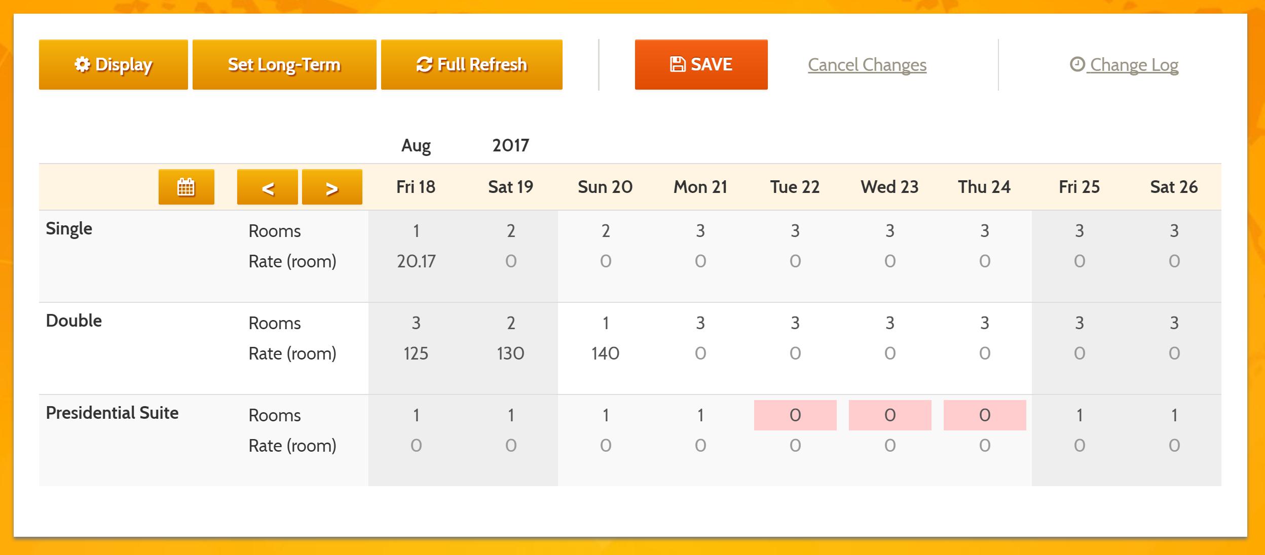 MyAllocator Calendar by Bellebnb.com