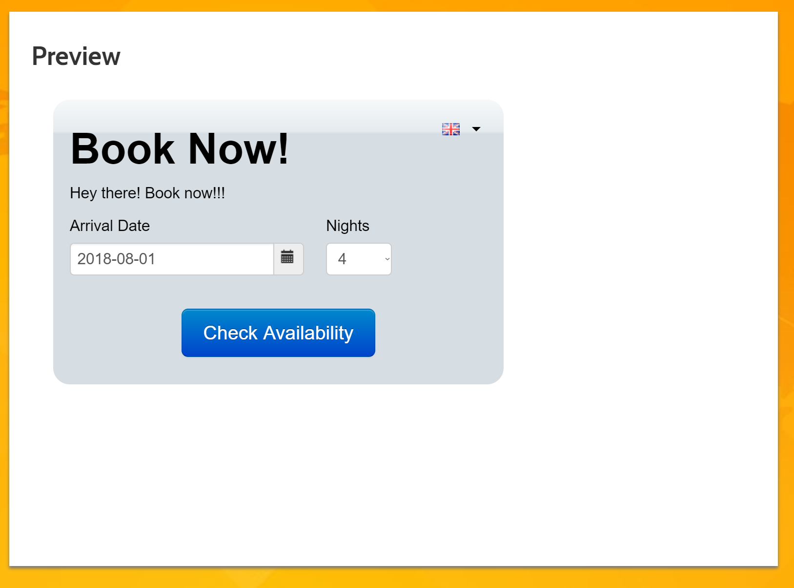 Hotel PMS Software how to create a test booking in the test booking engine