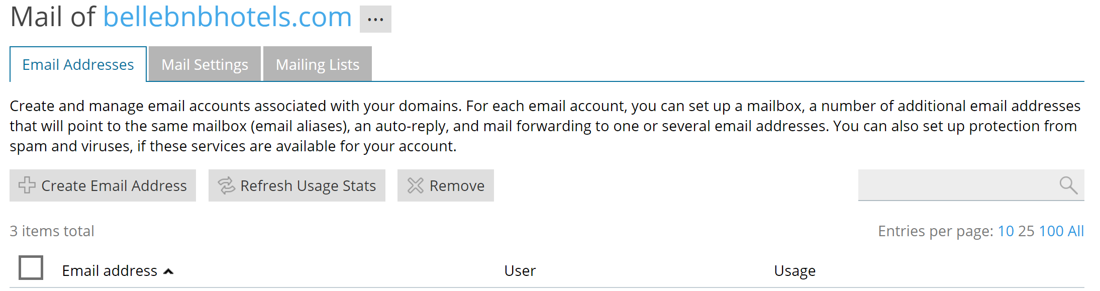Hotel Email Addresses PMS Software