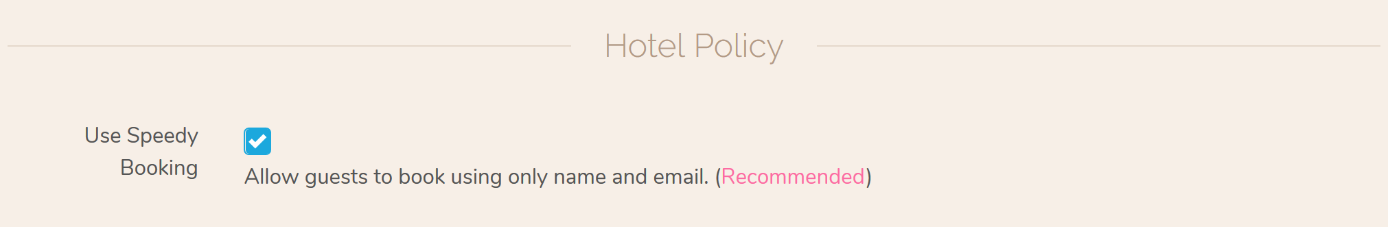 Enable Speedy Hotel Bookings and Hotel Reservations