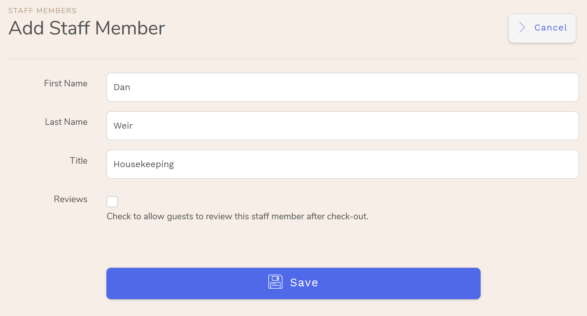 Hotel Housekeeping Management Software for Hotel · Hostel · B&B · Vacation Rental