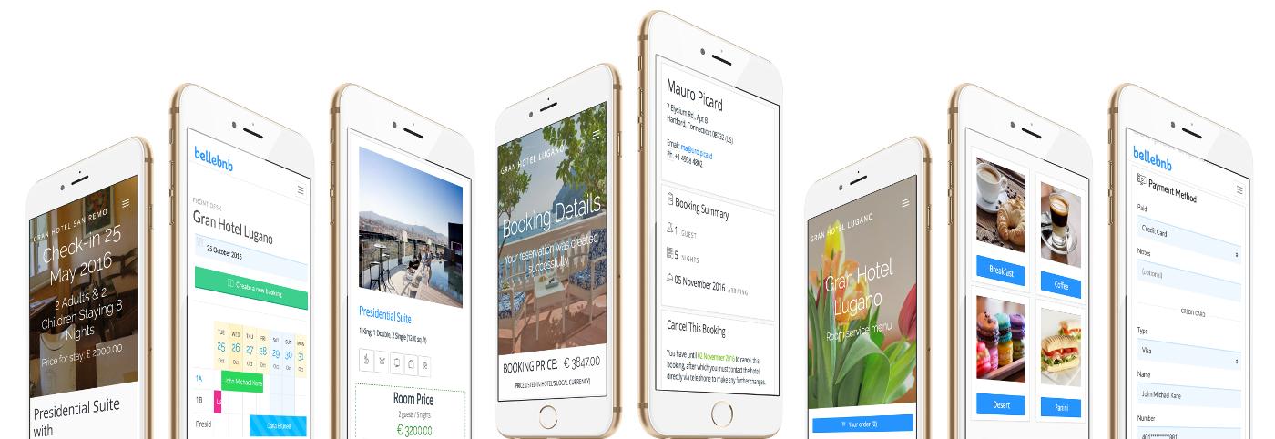 Mobile  Hotel Mobile Reservations Calendar App