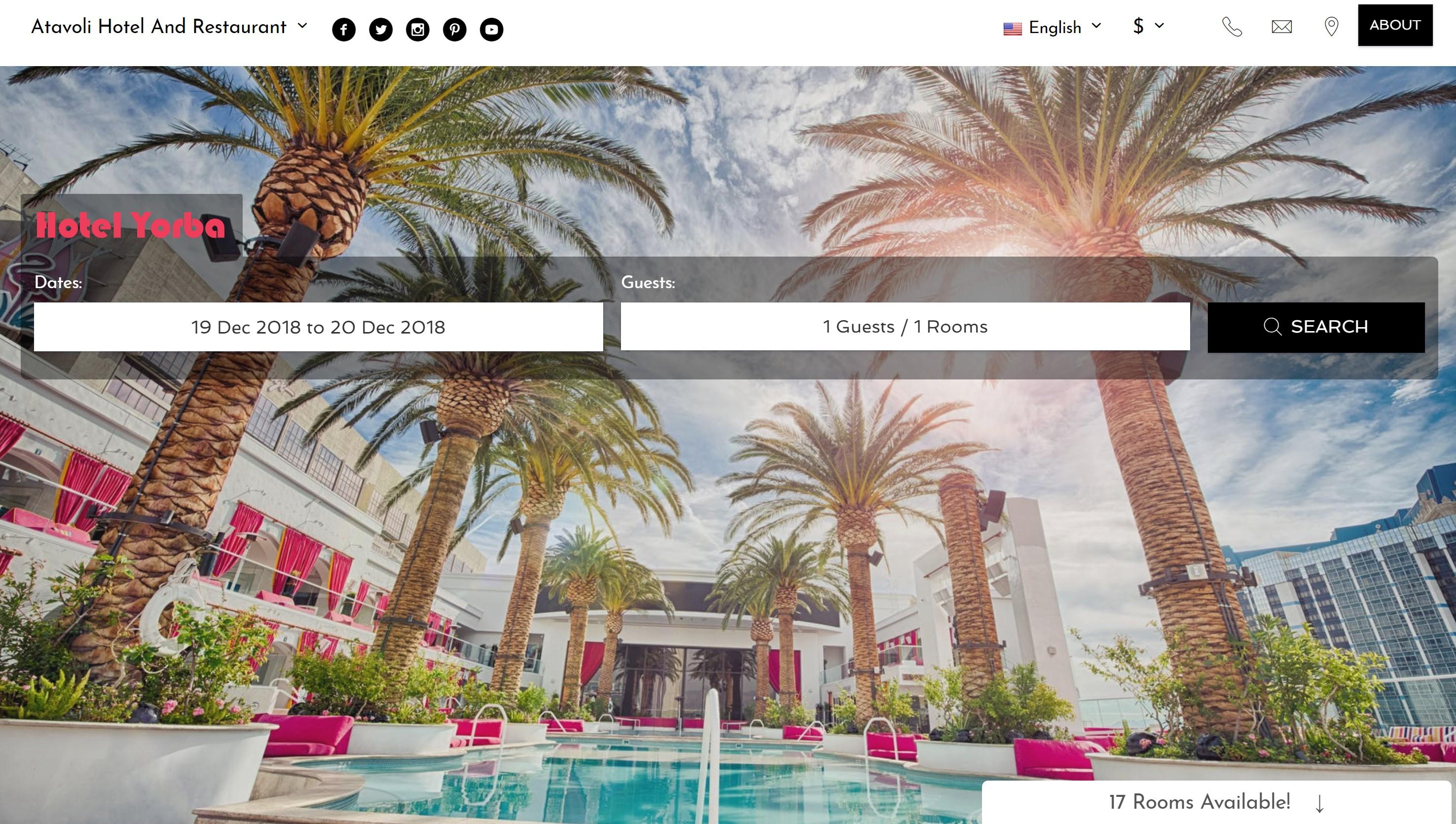 Your hotel management platform