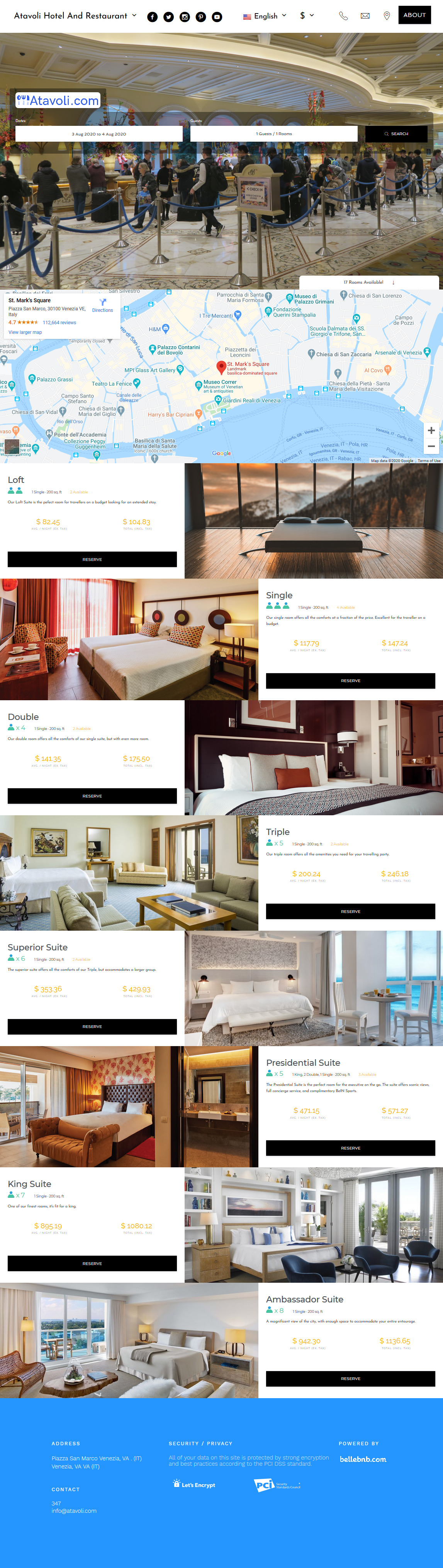 White Label Hotel Booking Engine