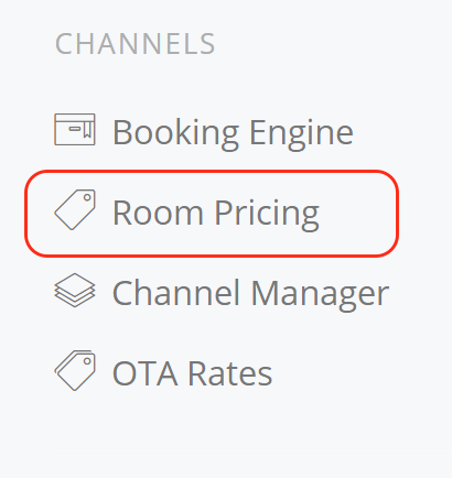 Channels Room Pricing