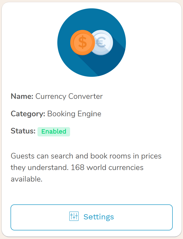 hotel currency converter