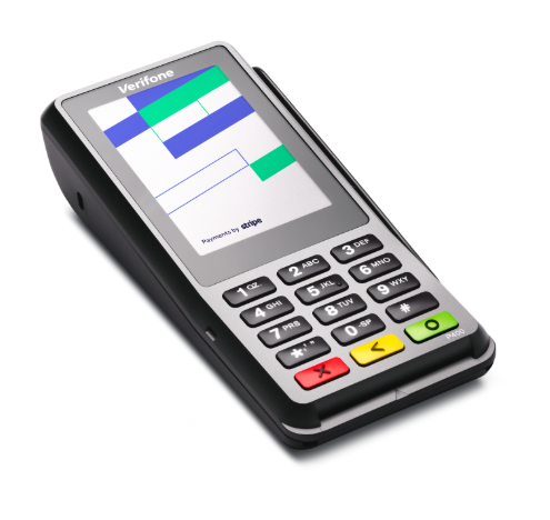 Purchase your card reader Terminal Verifone P400 from Stripe.