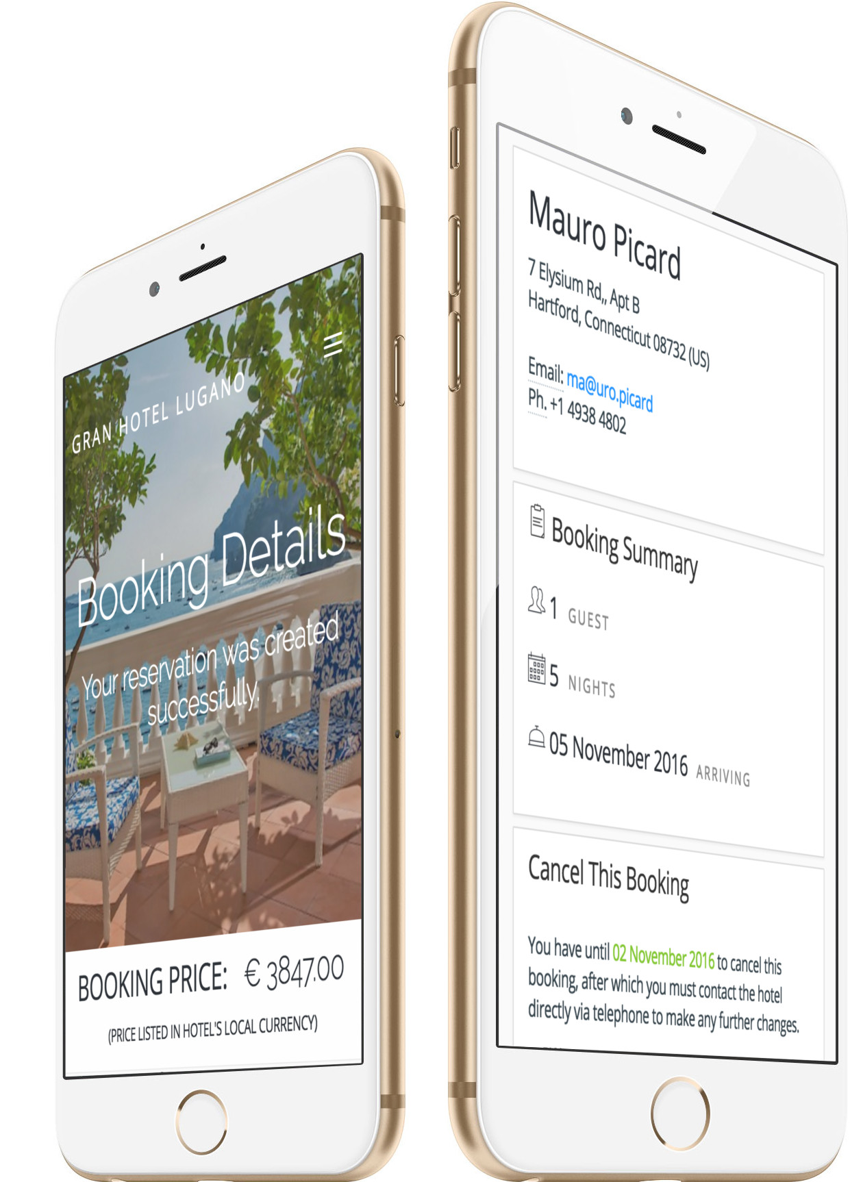 Optimized for Mobile Hotel Booking Mobile Booking App for Android and IOS