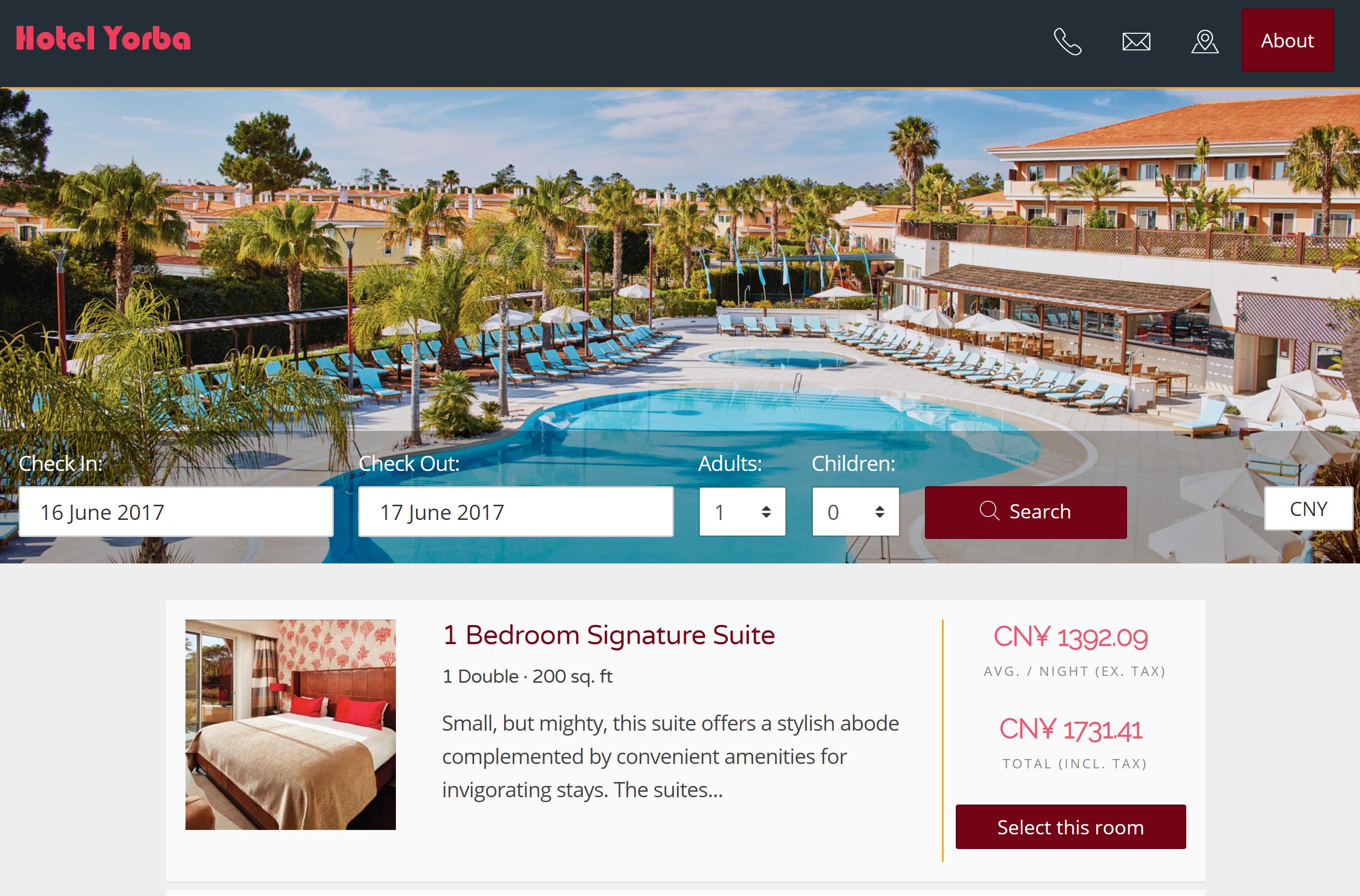 Απλή Ισχυρή ξενοδοχειακή διαχείριση τιμών Τιμολόγηση Προσφορές
