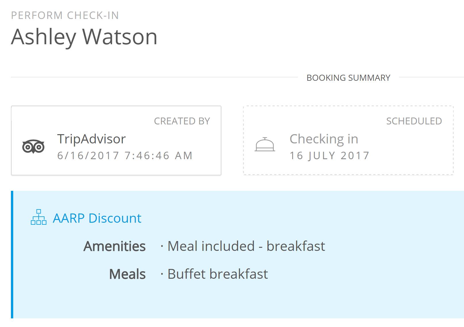 Gestion de réservation simple