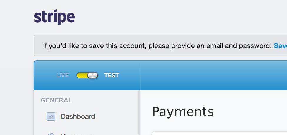 Elabora pagamenti con un clic