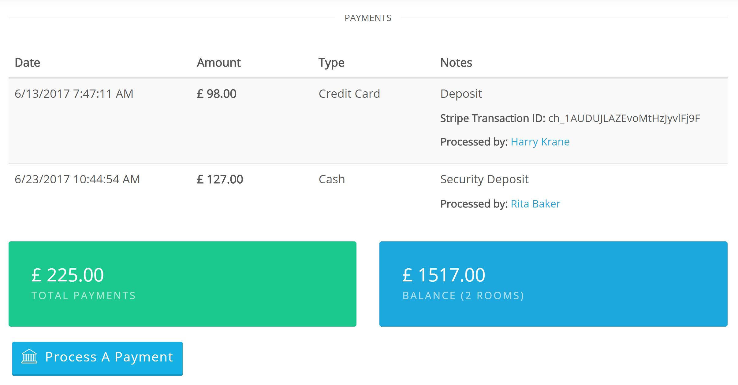 Elabora pagamenti multipli Seleziona ed elabora il pagamento alla cassa